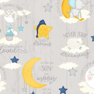 All Our Stars 1828-82578-914 Gray